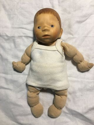 Handcrafted Wooden Baby Doll By Elisabeth Pongratz Updated Listing
