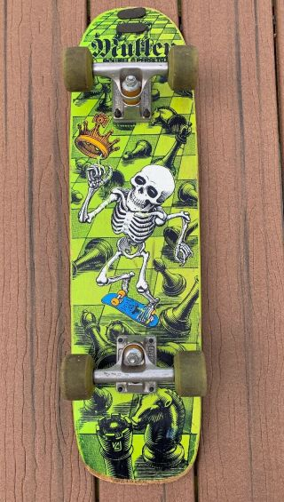 Powell Peralta 80s Rodney Mullen Chess Board Indys Ojii Freestyle Old School
