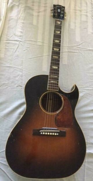 Vintage 1952 Gibson Cf - 100 Acoustic Guitar