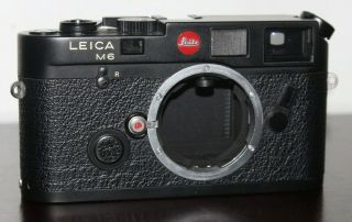 Rare Early First Batch Leica M6 Rangefinder Camera Near