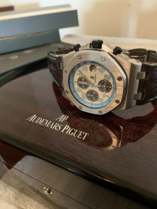 Rare $30k Exquisite Audemars Piguet Montauk Highway Royal Oak Offshore Watch