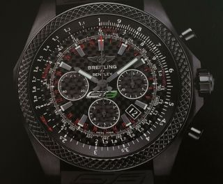 Rare Limited Edition Breitling For Bentley Model Gt3 - R Version B06 Mb0611