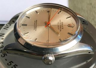 Rare Vintage Rolex TRUBEAT 6556 with DEAD SECONDS Movement Intact circa 1956 6