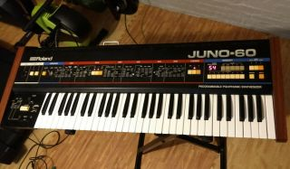 Roland Juno - 60 Keyboard Synthesizer - Vintage