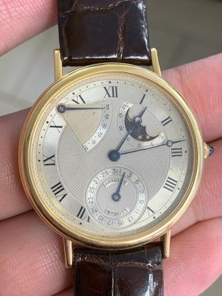 Breguet Classic Moonphase 18k Yellow Gold 36mm Moon Phase