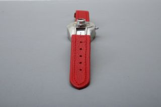 Steineck A - B - C Spy watch camera,  Red Strap,  Film,  Certificate,  Display Box,  RARE SET 6