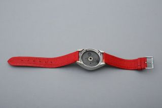Steineck A - B - C Spy watch camera,  Red Strap,  Film,  Certificate,  Display Box,  RARE SET 7