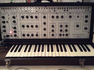 Vintage Electrocomp Synthesizer Keyboard Model 101