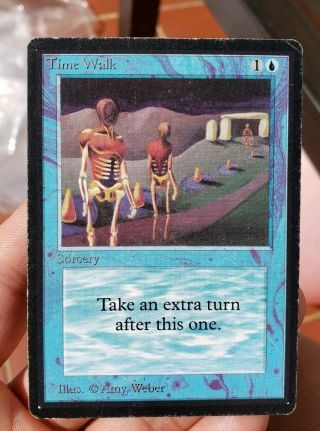 Vintage Magic | Mtg Beta Time Walk,