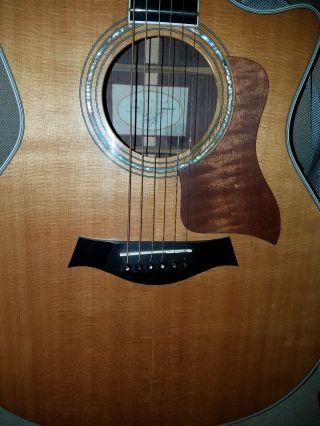 Rare 2001 Taylor 814ce Acoustic Guitar W/ Fishman Pu & Ext.  Preamp Ohsc.