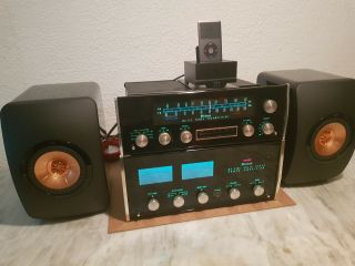 Mcintosh Mc2105 2 - Channel Amplifier And Mcintosh Mx112 Preamp,  Classic Vintages.