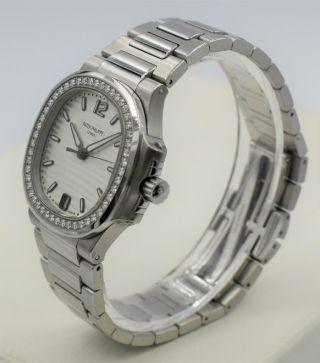 Rare Ladies Steel Diamond Patek Philippe Nautilus Wristwatch Ref 7018/1A - 001 4