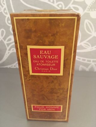 Rare Christian Dior Sauvage 112ml Vintage New&sealed