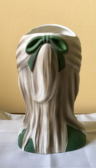 "8 3/4"" Enesco Rare ""High Teen"" Head Vase In 4"