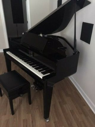 2016 Yamaha Avant N3 Digital Hybrid Grand Piano - Ebony Finish - Rarely