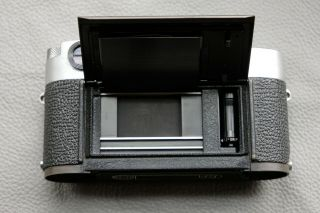 Leica M2 - R (M2 with M4 rapid load) rangefinder camera - rare CLA ' d and 10