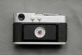 Leica M2 - R (M2 with M4 rapid load) rangefinder camera - rare CLA ' d and 3