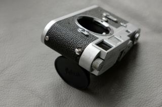 Leica M2 - R (M2 with M4 rapid load) rangefinder camera - rare CLA ' d and 6