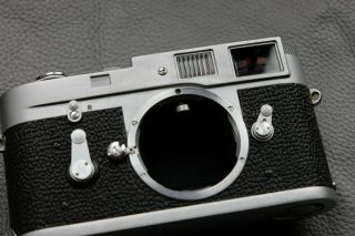 Leica M2 - R (M2 with M4 rapid load) rangefinder camera - rare CLA ' d and 7