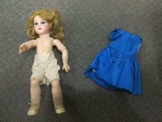 Rare Antique Jumeau Doll 5 Bisque Doll