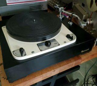 Gerrard 301 Vintage Turntable Serviced Esl Tonearm Pickering Serviced