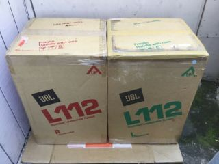 Jbl L112 Vintage Speakers W/ Boxes