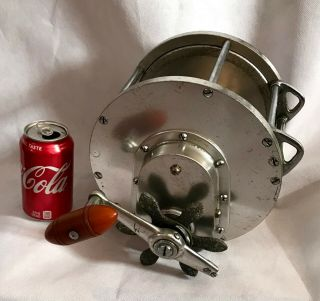 Vintage 30s Big Game Tuna Reel 1 Kovalovsky era 2