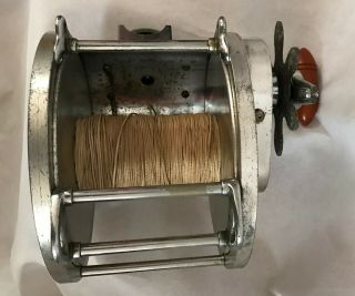 Vintage 30s Big Game Tuna Reel 1 Kovalovsky era 4