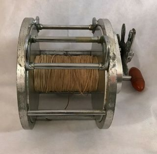 Vintage 30s Big Game Tuna Reel 1 Kovalovsky era 9