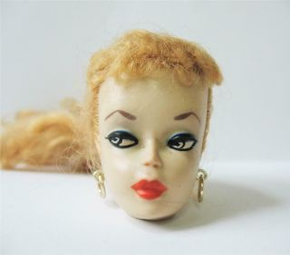 Early Vintage Ponytail Barbie Doll 1 Or 2 Head Only