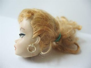 Early Vintage Ponytail Barbie Doll 1 or 2 Head Only 4
