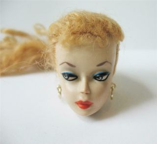 Early Vintage Ponytail Barbie Doll 1 or 2 Head Only 7