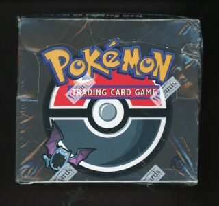 "Pokemon 1st Edition Team Rocket Booster Box Wotc "" Rare """