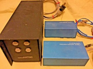 Vintage M A Cotter Co Master Power Supply Pw 2,  Noise Filter Buffer,  Phono Sig.