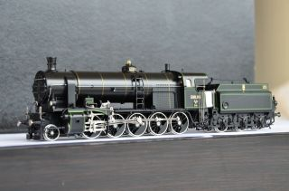 Micro Metakit 03601h Brass Austrian Sud Rh 580 Steam Locmotive Rare