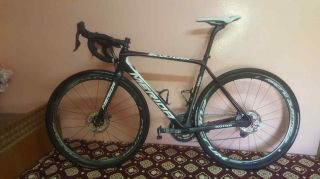 Rare Merida Scultura disc bike dura ace di2 Pro Team 2017 size 53 s dogma 2
