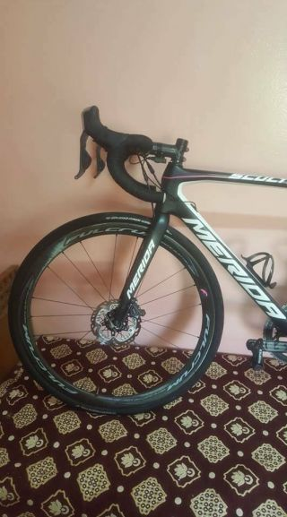 Rare Merida Scultura disc bike dura ace di2 Pro Team 2017 size 53 s dogma 3