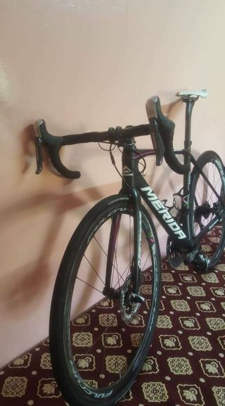 Rare Merida Scultura disc bike dura ace di2 Pro Team 2017 size 53 s dogma 6