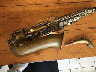 Vintage 1935 Selmer Paris Radio Improved Alto Saxophone