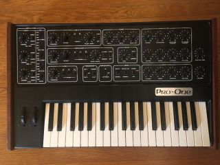 Sequential Circuits Pro One W/midi Vintage Analog Mono Synth
