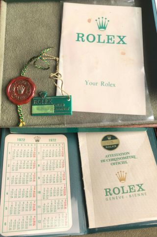 Vintage Rolex GMT Master 1675 from 1972 Rare PUNCHED PAPERS 6