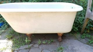 Vintage - One Of A Kind 1926 Standard Sanitary Manufacturing 4 1/2 Claw - Foot Tub
