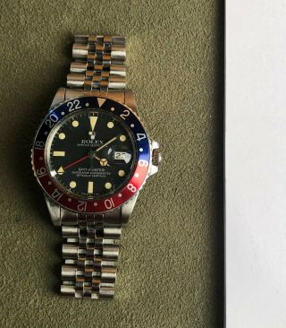 Vintage Rolex 16750 Matte Dial Gmt Master From 1981 Last Of The Matte Dials