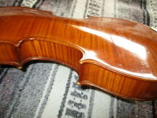 Rare Fine Old Antique 1900 Vintage German Master From Lintz 4/4 Violin - Solo Tone