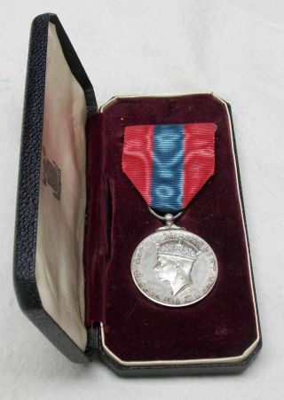 Canada Wwii George Vi Named Imperial Service Medal