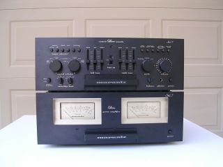 Marantz Esotec Sc7 & Sm7 Preamp And Amplifier Pair Rare