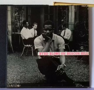 Donald Byrd Byrd Blows On Beacon Hill Transition With Booklet Very Rare