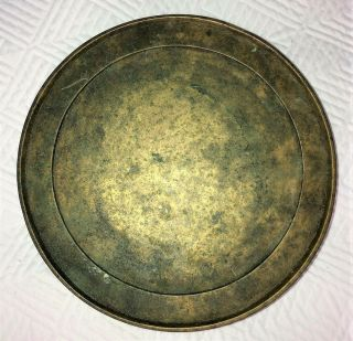 Antique CHINESE BRONZE STAND or CENSER BASE 4