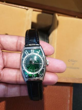Extremely Rare Franck Muller Master Complication In 18k Solid White Gold $58,  000