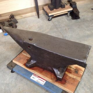 Vintage Firminy 524 Pound Blacksmith Bladesmith Anvil 3